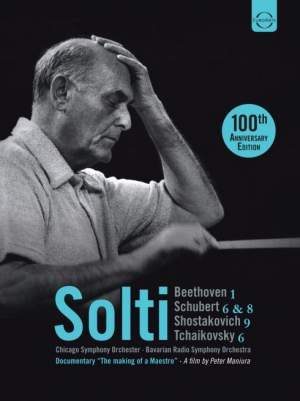 Georg Solti: 100th Anniversary 3 DVD Box Set Product Image