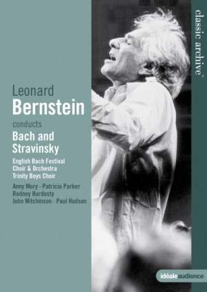 Leonard Bernstein conducts JS Bach & Stravinsky