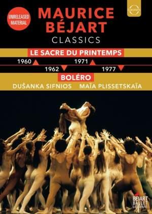Maurice Béjart – Leap-in-time Edition - Rite of Spring & Bolero