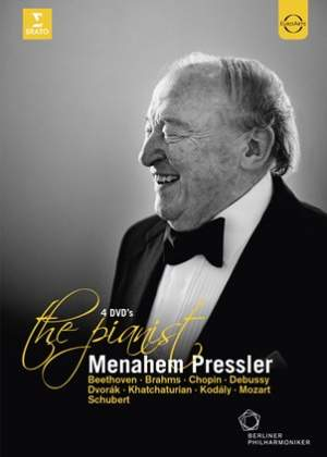 Menahem Pressler - The Pianist