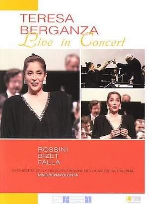 Teresa Berganza: Live in Concert
