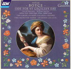 Boyce: Ode for St Cecilia's Day