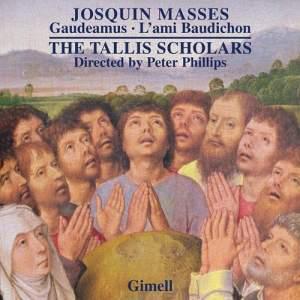 Josquin des Prés: Masses - Gaudeamus&#x3B; L'ami Baudichon Product Image