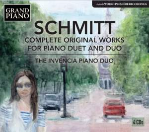Schmitt: Complete Original Works for Piano Duet and Duo
