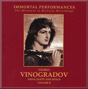 Georgi Vinogradov: Arias, Duets and Songs Vol. 2