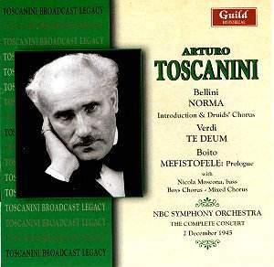 Toscanini conducts Bellini, Verdi and Boito