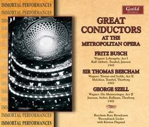 Great Conductors at the Metropolitan Opera: Wagner