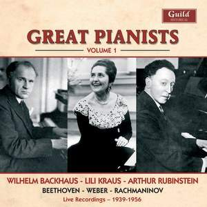 Great Pianists: Volume 1