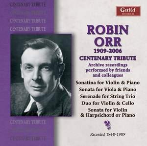 Robin Orr, 1906-2006: A Centenary Tribute