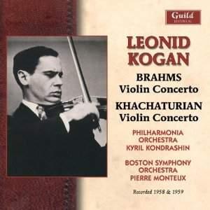 Brahms & Khachaturian: Violin Concertos