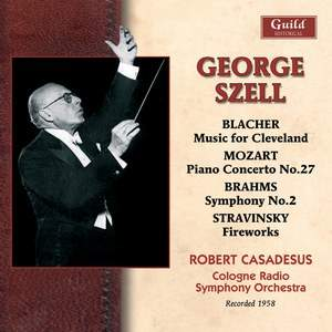 George Szell conducts the Cologne Radio Symphony Orchestra