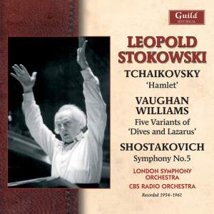 Stokowski conducts Tchaikovsky, Vaughan Williams and Shostakovich