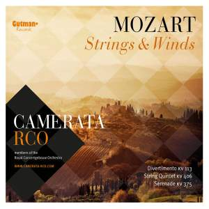 Mozart: Strings & Winds Product Image