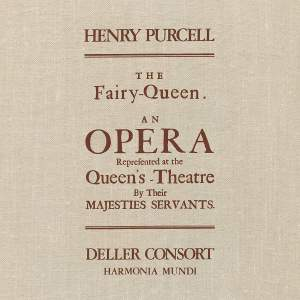 Purcell: The Fairy Queen - Vinyl Edition Product Image