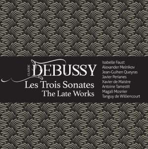 Image result for A new title is DEBUSSY: LES TROIS SONATES – The Late Works (Harmonia Mundi