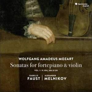 Mozart: Sonatas for fortepiano and violin Product Image