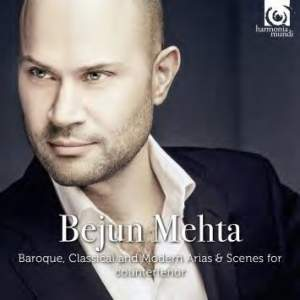 Bejun Mehta: Baroque, Classical and Modern Arias & Scenes for countertenor