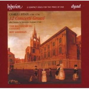 The English Orpheus 28 - Charles Avison Concerti Grossi after Scarlatti
