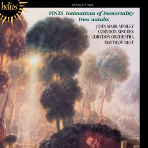 Finzi: Intimations of Immortality & Dies natalis