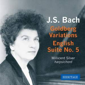 JS Bach: Goldberg Variations & English Suite No. 5 Product Image