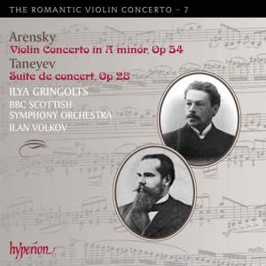 The Romantic Violin Concerto 7 - Arensky & Taneyev