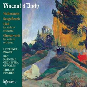 Indy - Wallenstein and other orchestral works