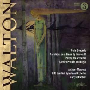 Walton: Violin Concerto, Partita & Hindemith Variations