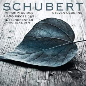 Schubert: Impromptus, Piano pieces & Variations