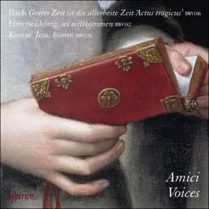 JS Bach: Cantatas Nos 106 & 182