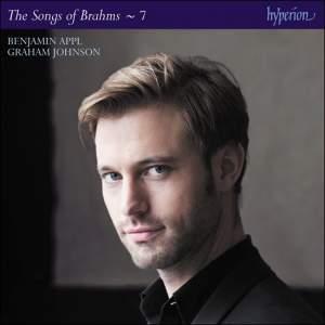 Brahms: The Complete Songs Volume 7 (Benjamin Appl) Product Image