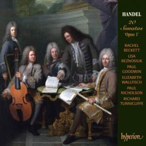 Handel: 20 Sonatas 'Opus 1'