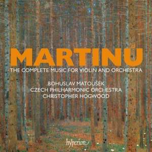 Martinů: The complete music for violin and orchestra Product Image