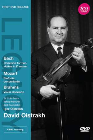 David Oistrakh plays Bach, Mozart & Brahms