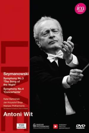Szymanowski: Symphonies Nos. 3 & 4
