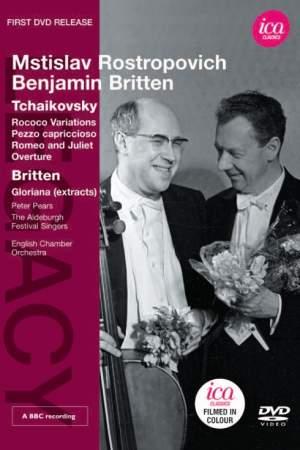 Tchaikovsky: Mstislav Rostropovich & Benjamin Britten