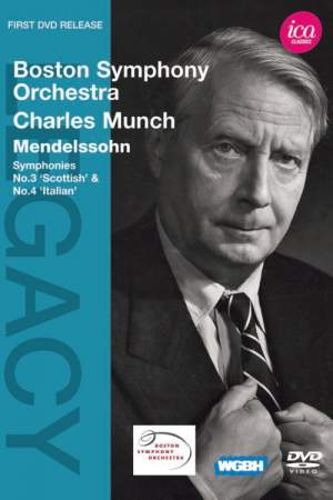 Boston Symphony Orchestra & Charles Munch play Mendelssohn
