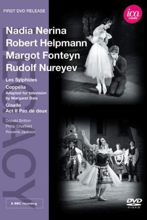 Nadia Nerina, Robert Helpmann, Margot Fonteyn & Rudolf Nureyev