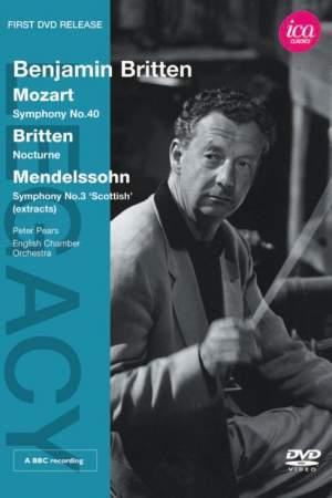 Benjamin Britten conducts Mozart & Britten