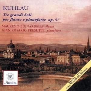 Friedrich Kuhlau: Flute Sonatas Vol. 1