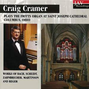 Craig Cramer Plays The Fritts Organ At Saint Joseph Cathedral Columbus, Ohio