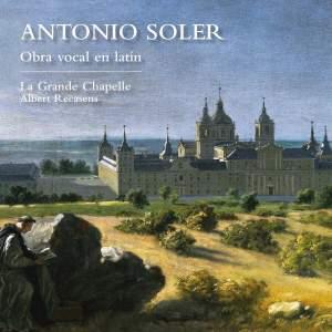 Antonio Soler: Obra vocal en Latin - Vocal Works in Latin Product Image