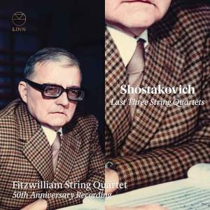 Shostakovich: Last Three String Quartets Product Image