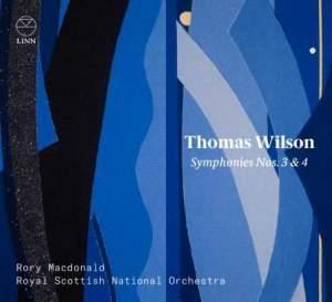 Thomas Wilson: Symphonies Nos. 3 & 4 Product Image
