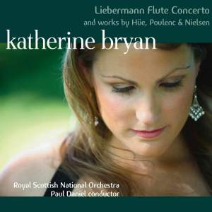 Liebermann Flute Concerto and works by Hüe, Poulenc & Nielsen