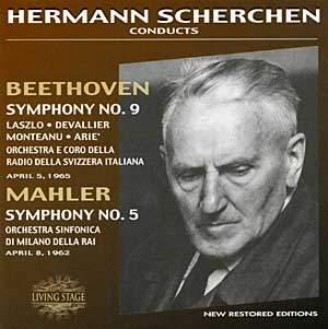 Hermann Scherchen conducts Beethoven & Mahler