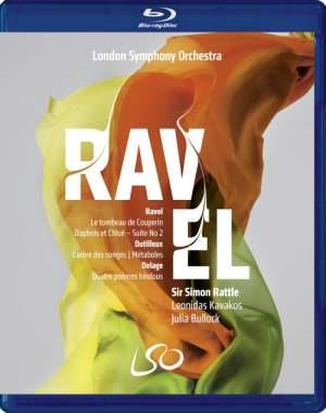 Ravel, Dutilleux & Delage