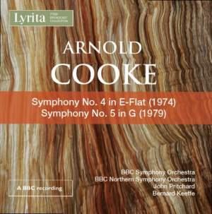 Arnold Cooke: Symphonies Nos. 4 & 5