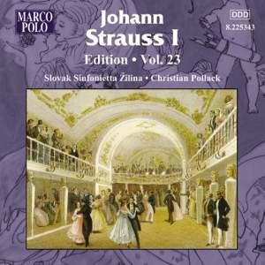 Johann Strauss I Edition, Volume 23 Product Image