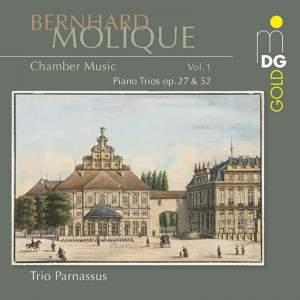 Bernhard Molique: Piano Trios Op. 27 & 52 Product Image
