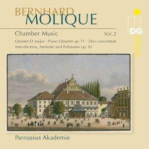 Bernhard Molique: Chamber Music Volume 2